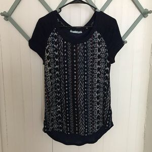 Maurices Aztec top